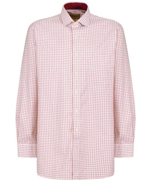 Men's Schoffel Cambridge Tailored Shirt - Red