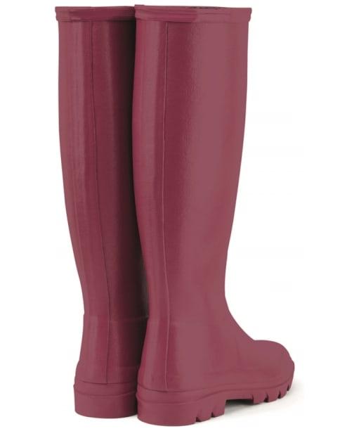 Women's Le Chameau Iris Jersey Lined Boots - Rose