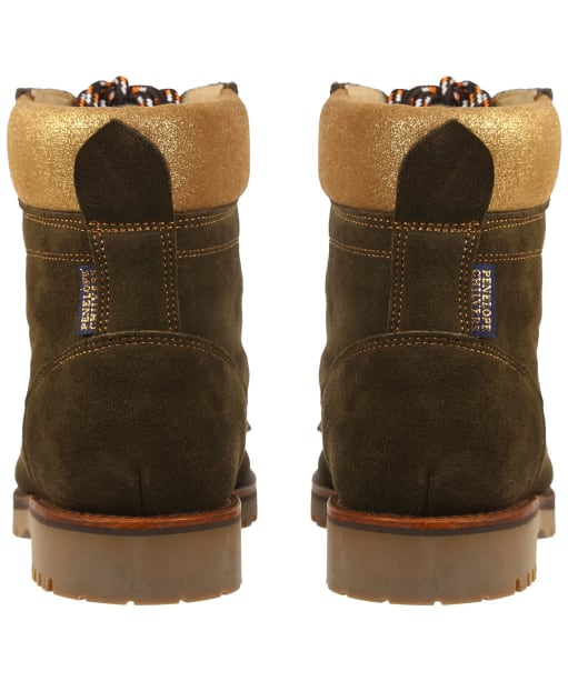 Women's Penelope Chilvers Pioneer Suede Lined Boots - Khaki