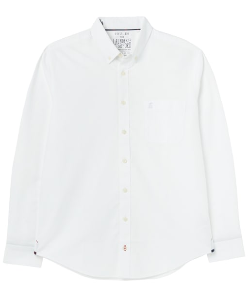 Men's Joules Oxford Classic Fit Shirt - White
