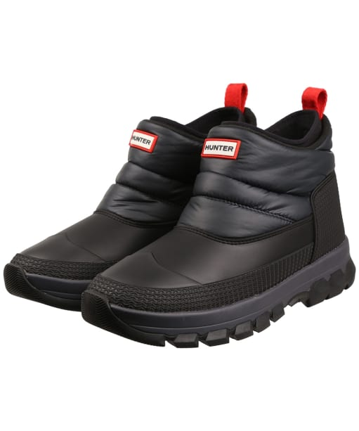 Men's Hunter Original Insulated Snow Ankle Boots - Black