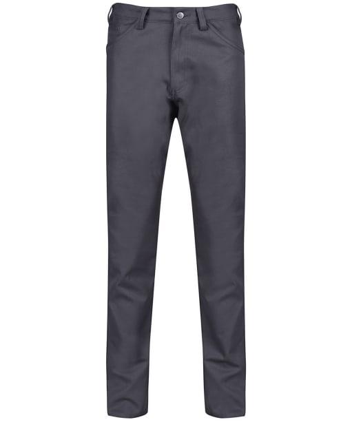 Men's Fjallraven Greenland Canvas Jeans - Dark Grey