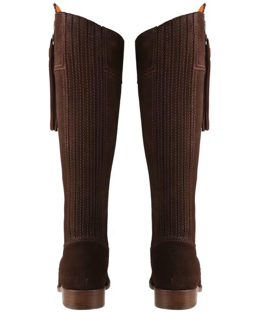 Women's Fairfax & Favor Sporting Fit Regina Boots - Chocolate Suede