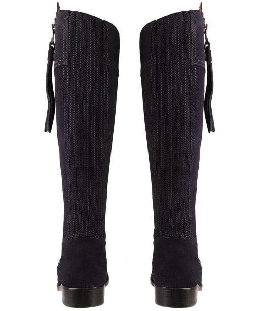 Women's Fairfax & Favor Sporting Fit Regina Boots - Navy Suede