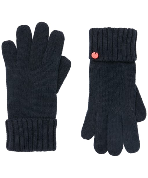Women's Joules Joanie Knitted Gloves - French Navy