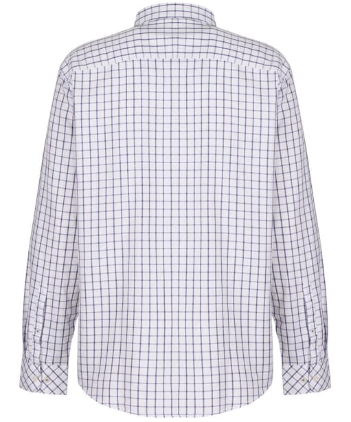 Men's Joules Welford Classic Shirt - WHITE/PINK CHK