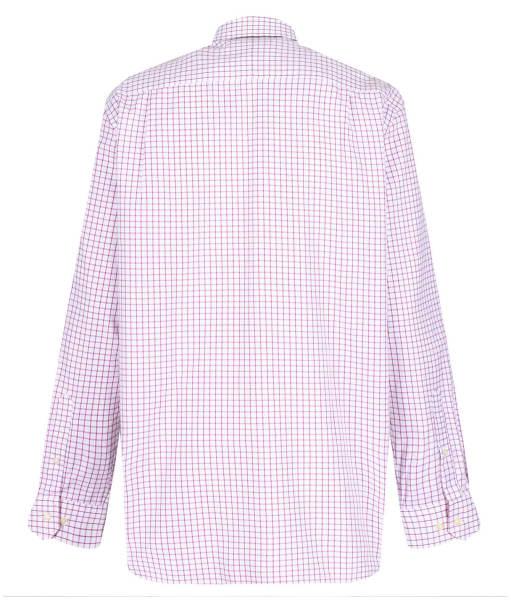 Men's Schoffel Cambridge Shirt - Raspberry