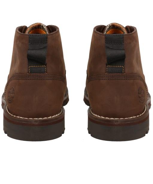 Men's Timberland Larchmont II Waterproof Chukka Boots - Dark Brown Full-Grain