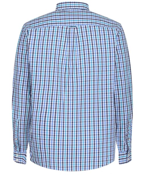 Men's Crew Clothing Classic Fit Multi Gingham Shirt - Ink / Navigo / Amal