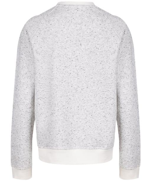 Women's Crew Clothing Graphic Sweatshirt - White/Navy