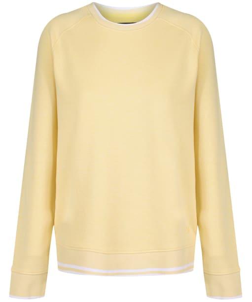 Women's Crew Clothing Pique Sweatshirt - Yellow