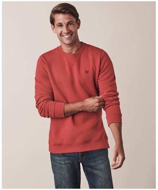 Men's Crew Clothing Baddesley Crew Sweater - Red