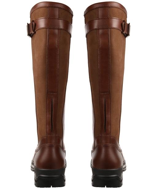 Women's Le Chameau Jameson Standard Fit Leather Boots - Caramel