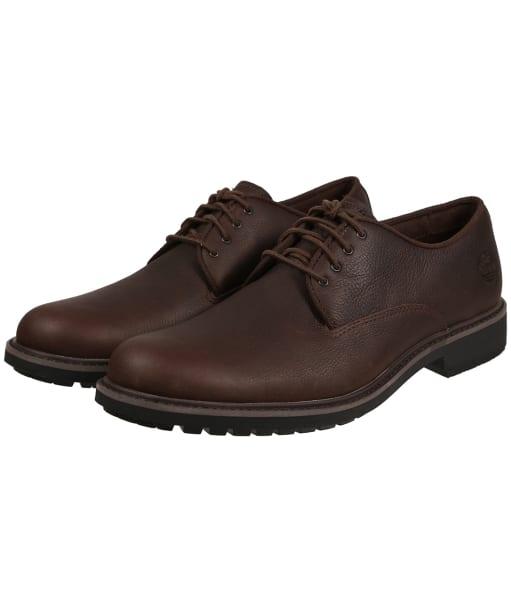 Men's Timberland Stormbucks Oxford Shoes - Dark Brown Full-Grain