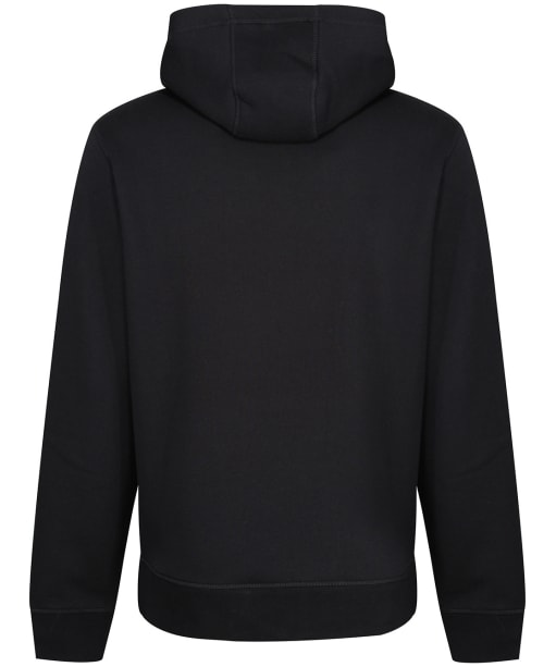 Men's Tommy Hilfiger Logo Fleece Hoody - Jet Black