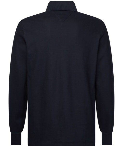 Men's Tommy Hilfiger Slim Long Sleeve Polo Shirt - Desert Sky