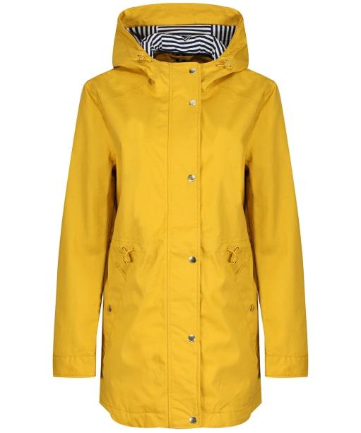 Women's Joules Shoreside Waterproof Jacket - Antique Gold