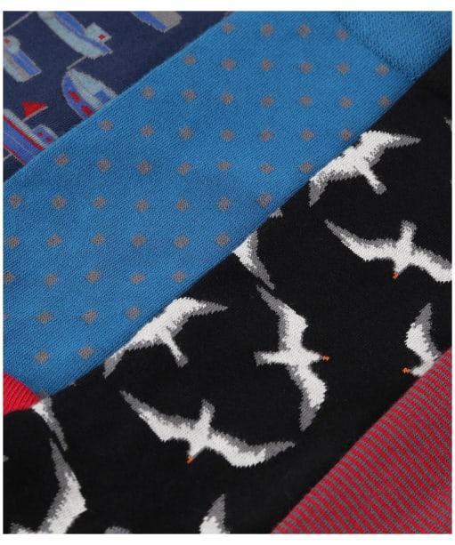 Men's Seasalt Socks Selection - Polglade Mix
