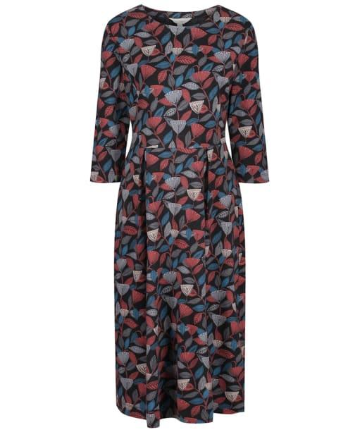Women's Seasalt Kay Dress - Seed Head Medley Mahogany