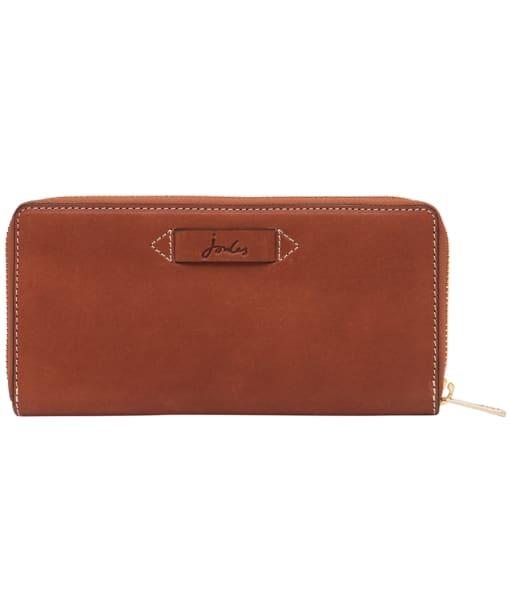 Women's Joules Langton Large Leather Purse - Medium Tan