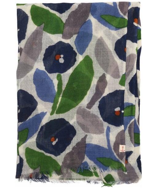 Women's Seasalt Pretty Printed Scarf - Collage Bloom Sailor