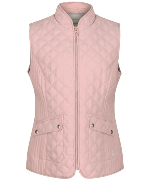 Women's Joules Minx Quilted Gilet - Pink