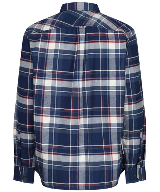 Men's Joules Buchannan Classic Shirt - Blue / Orange Check