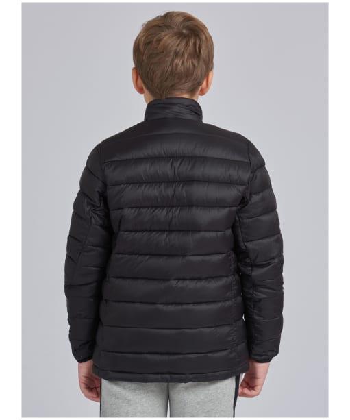 Boy's Barbour International Summer Impeller Quilt – 10-15yrs - Black
