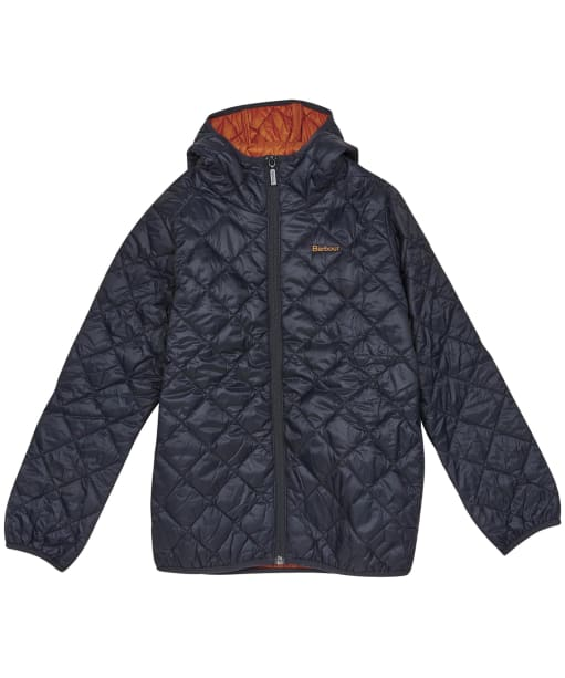 Boy's Barbour Holf Quilted Jacket – 6-9yrs - Navy