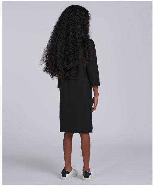 Girl's Barbour International Island Dress, 6-9yrs - Black