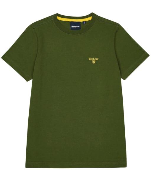 Boy's Barbour Small Logo Tee – 6-9yrs - Rifle Green
