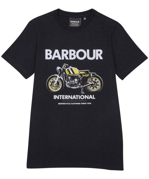 Boy's Barbour International Rider Tee – 10-15yrs - Black