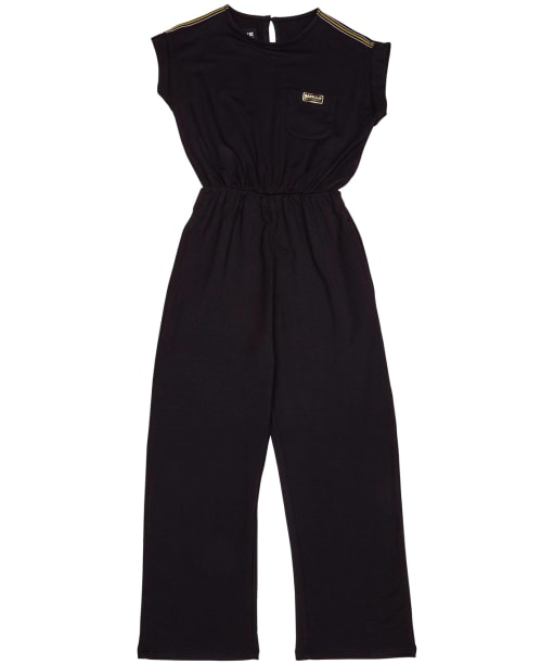 Girl's Barbour International Pace Jumpsuit – 6-9yrs - Black