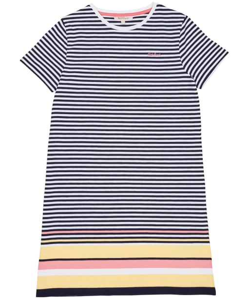 Girls Barbour Harewood Stripe Dress – 6-9yrs - Multi