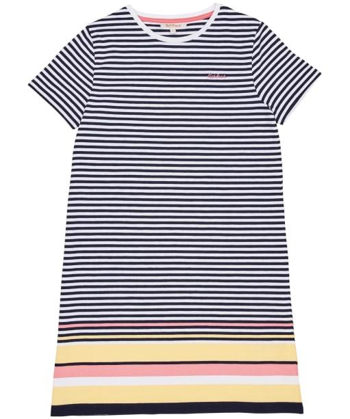Girls Barbour Harewood Stripe Dress – 10-15yrs - Multi