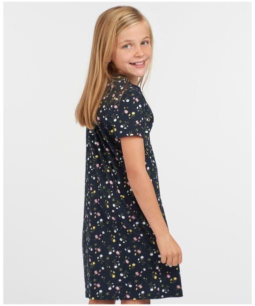 Girls Barbour Harewood Print Dress – 6-9yrs - Multi