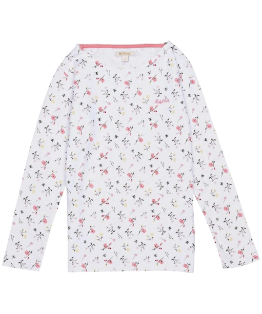 Girls Barbour Bradley Print Top – 6-9yrs - Multi