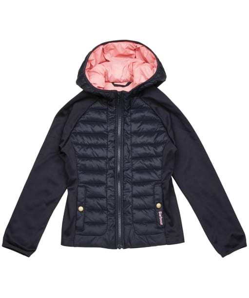 Girls Barbour Nethercote Sweater – 6-9yrs - Navy
