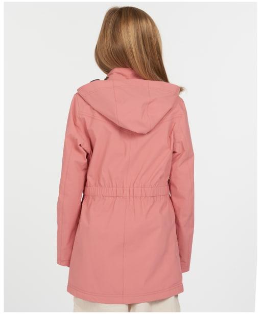 Girls Barbour Clyde Waterproof Jacket – 6-9yrs - Vintage Rose