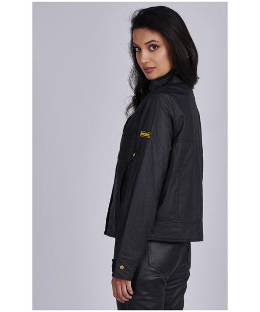 Women's Barbour International Victory Casual Jacket - Black