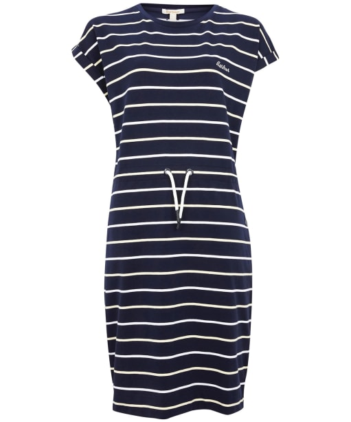 Women's Barbour Marloes Stripe Dress - New Navy