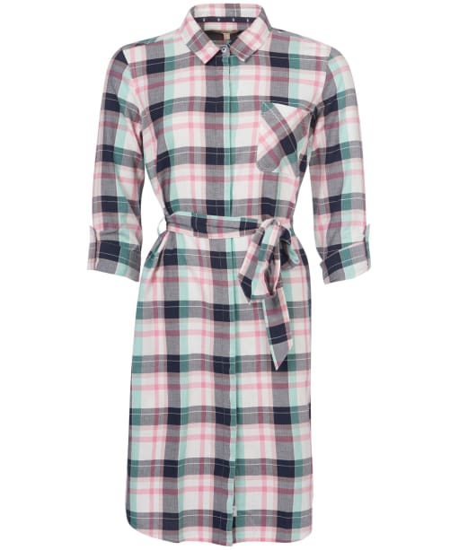 Women's Barbour Padstow Dress - Cloud Check