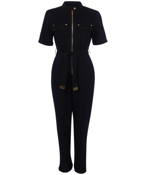 Women's Barbour International Pace Jumpsuit - Black