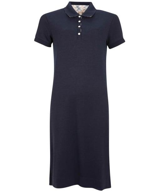Polo Dress - Navy