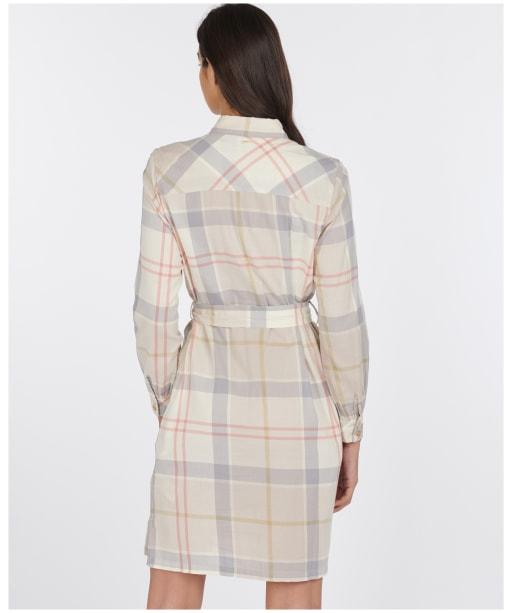 Women's Barbour Lothian Dress - Mist Tartan