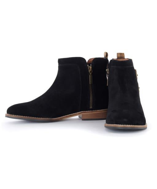 Women's Barbour Cornbury Boots - Black Suede