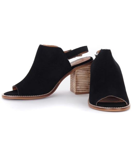 Women's Barbour Scarlett Sandals - Black Suede