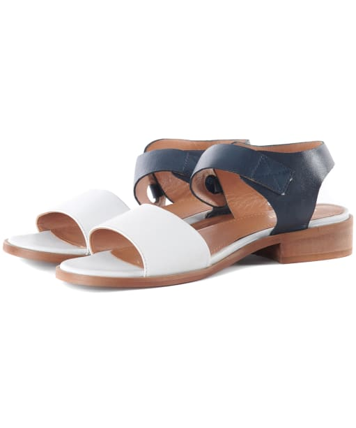 Women's Barbour Lucy Sandals - Navy / White