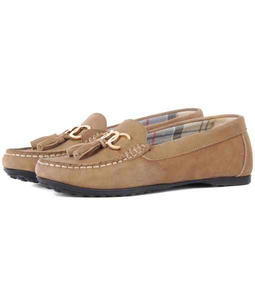 Women's Barbour Nadia Driving Shoes - Taupe