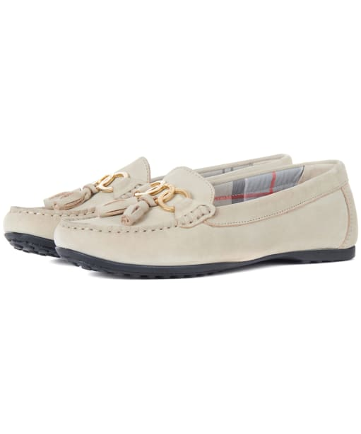 Women's Barbour Nadia Driving Shoes - Cream